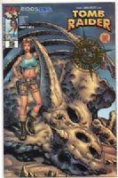 Tomb Raider #5 - Gold Foil Dynamic Forces Variant Cover with COA - 1309/3000